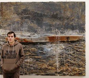 Anselm Kiefer. Merkaba, 2006 и человек среднего роста для масштаба #kiefer #anselmkiefer
