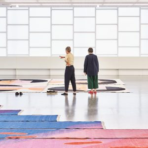 Haptic perception and the use of colour play an important role for Polly Apfelbaum. On Wednesday, 5...