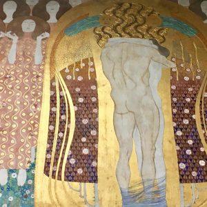 Сегодня у нас был просто свободный день! Выспались и отправились смотреть Бетховенский фриз Густава Климта. Всегда удивительно,...