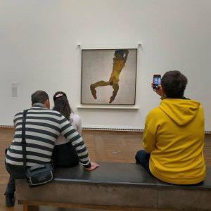 Leopold museum вразив неодноразово: роботами Шіле, що виявились геть іншими, ніж у мистецьких альбомах та спробою заборонити...