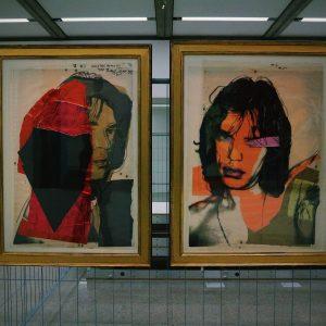 Warhol + Jagger
