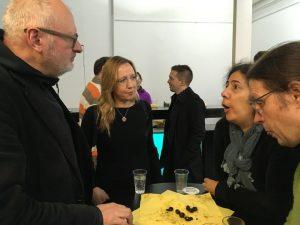 Frank Geßner eröffnet seine Ausstellung