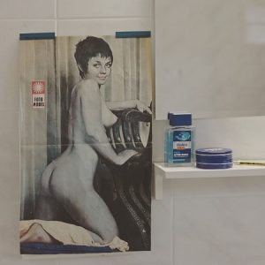 #slaventolj #artwork #sexy #pinup #bathroom #nivea #vintage #performanceartist #croatia #dubrovnik #rijeka This sexy artwork is on view...