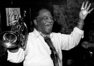 Who's birthday is it?! CLARK TERRY. He would have been 98. #clarkterry