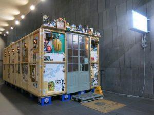 これも作品でした。最初ミュージアムカフェかと勘違いしてまじで入ろうと試みた(はっずかし!!) #art #museum #mumok #vienna #wien #austria #trip #travel #saacalmtravel #arte #museo #viena #viaje #ウィーン #オーストリア #美術館...