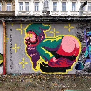 Offensive Dwarf by @eternalmanila - in da hood #brunnen4tel #brunnenviertel #otk #ottakring #elfsechzig ...