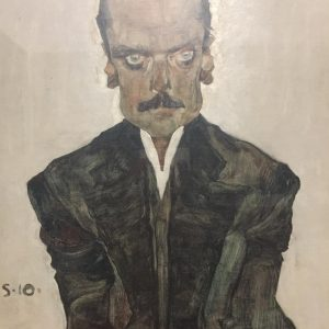 Das Bildnis des Verlegers Dr Eduard Kosmacks #schiele #unteresbelvedere #vienna #geniuspaintart #thelook #tzw #spojrzenie