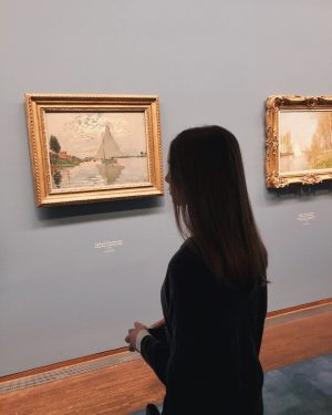 Claude Monet exhibition ➰🔎 ⠀⠀⠀ ⠀⠀⠀ #impressionism#art#vienna