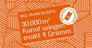 Ein Herzensgeschenk für alle KunstliebhaberInnen! 365 Tage mumok - Museum moderner Kunst Wien, Leopold Museum und Kunsthalle...