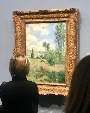 Claude Monet/Lane in the Poppy Field/1880 #claudemonet#laneinthepoppyfield#impressionism#art#albertina#vienna#austria