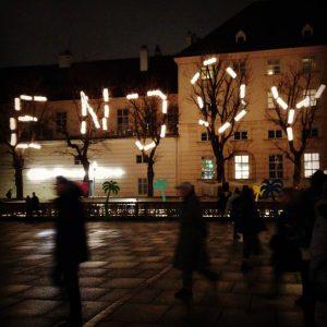 Winter de(lights) #enjoy #winter #vienna_city #museumsquartier #winterimmq
