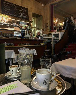 Lieblingsarbeitsplatz. #cafejelinek #wiener #kaffeehauskultur #melange #sodazitron #damengedeck #jelinek #wien #viennese #schönster #arbeitsplatz #workit #endlich Café Jelinek