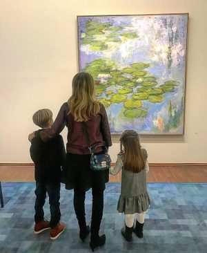 Claude Monet's Water Lilies is beloved around the world, a radiant example of ...