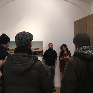 #yesterday #night #preview #opening #exhibition #contemporaryart #markozink #mauthausen #memorial #cooperation #barbaraglück #analog #photography #orf #ö1 #leporello Galerie...