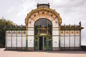 ________________________ Karlsplatz Stadtbahn Station | Vienna, Austria | c. 1898 • Karlsplatz Stadtbahn ...