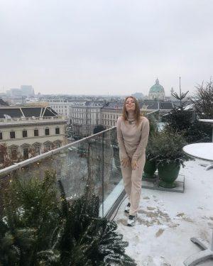 Уютный отель с прекрасными видами 💟 @grandferdinand #спасибо 🇦🇹❄️♥️ #люблю моя красивая #Вена