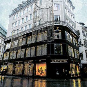 @louisvuitton #louisvuitton #vienna Julius Meinl am Graben