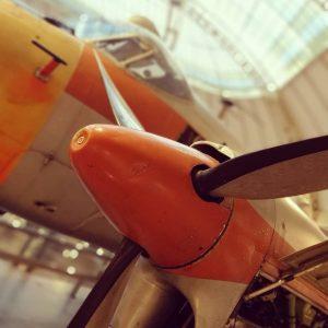 Technisches Museum Wien #flugzeug #orange #technischesmuseumwien #vienna