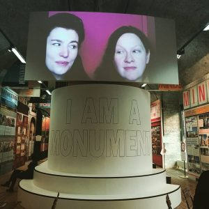 We Are A Monument - me and the Missus at the inspiring & brilliantly curated exhibition -...