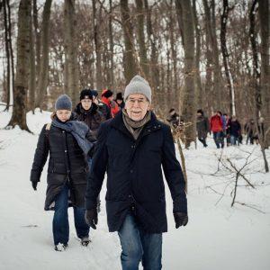 ❄️ Es ist wunderschön im Wienerwald! Gemeinsame Wanderung mit Familie und Freundinnen und ...