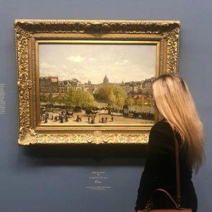 Nur noch wenige Tage.... und dann noch ist Schluss! Claude Monet in der Albertina. Ein echtes Highlight!...