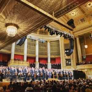 #freude #freude #freudeschöner #freudeschönergötterfunken —— Beste Silvestertradition. Wiener Konzerthaus