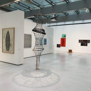 "MUSA vienna exhibits its acquisitions of 1990s works, on view Walter Weer's work ""Reuse"" from 1999, to..."