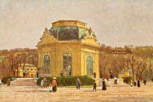 Der Tiergarten Schönbrunn ist Teil des UNESCO-Weltkulturerbes. In seinem Zentrum liegt, wie könnte ...