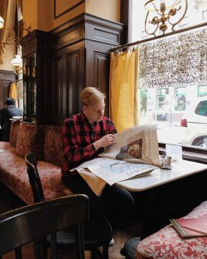 В кафе Відня панує справді домашня і невимушена атмосфера.