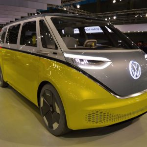 Mit dem I.D. Buzz steuern wir auf eine elektrische Zukunft zu. Erlebe ihn auf der Vienna Autoshow....