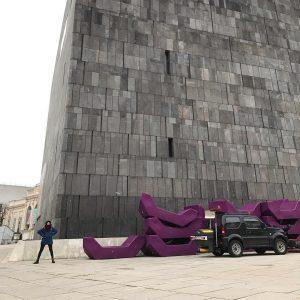 Mi spostai #mumokwien #leopoldmuseum #museumquartier #carino #belo #gelo #nevo