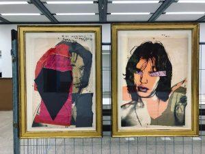 Rock idol 🎶🤘🏼 (Andy Warhol - Mick Jagger @mumok_vienna ) • • • ...