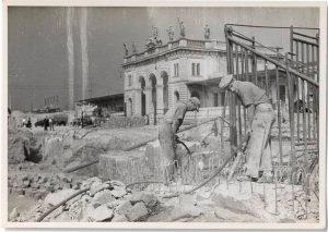 ABRISS DES ALTEN WESTBAHNHOFES! 1949 - also vor 70 Jahren - wurde der kriegsbeschädigte alte Westbahnhof abgetragen....