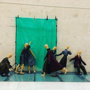 🇦🇹Arthur Arbesser! Great Exhibition❤️ #arthurarbesser#exhibition#vienna#dresses#conjuntos#fashiondesigner#fashion