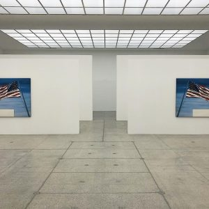 - ED - #edruscha #ruscha #america #flag #wien #vienna #contemporaryart #architecture #architectureporn #art