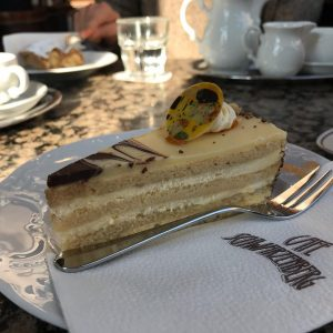 Klimt torte. Trying local food is one of the greatest joys of traveling, ...