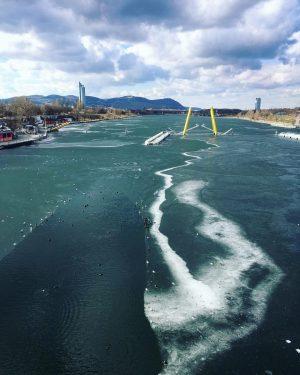 Eisiger Rückblick 2018 - glaubt ihr an eine gefrorene Donau noch in diesem Winter? Wir sind gespannt...