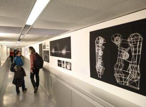 Offizielle Eröffnung #Rundgang: bei den Architekten.. #ika @akbild