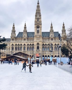 Today the Vienna Ice World in front of Vienna's city hall opens and we can't wait to...