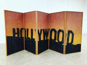 Folding screen #ruscha #art #secession #vienna #holywood #moviesthatmatter #beardsonfire🔥