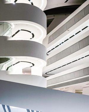 Campus WU, Library & Learning Center (LC) by Zaha Hadid [Hamburg, Germany]. [02/11/18] #new #university #economics #business...