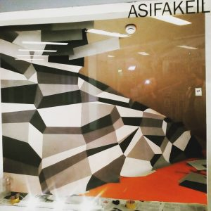 Work in progress, Day 2 @asifakeil Opening 17.01.19, 7 pm #papier#artwork#exhibition