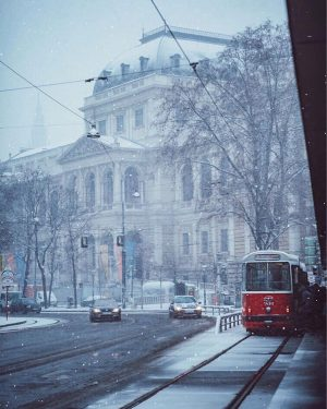 Today Vienna woke up to a surprise Winter Wonderland. In this wonderful photo you can see the...