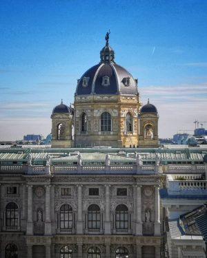 Naturhistorisches Museum, aufgenommen von der Terrasse des Justiz Café im Justizpalast. . . . . . ....