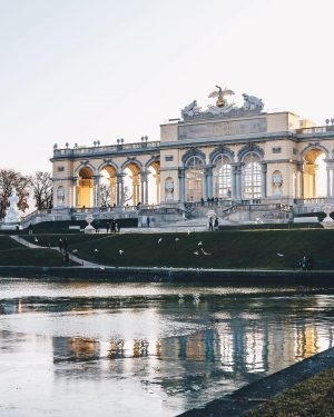 Good morning, Vienna! Wishing everyone a wonderful Wednesday from the beautiful Gloriette. What would you recommend doing...