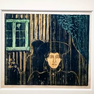 Edvard Munch (moonshine, 1896) at the exhibition 'Fascination Japan', Kunstforum, Vienna #edvardmunch #fascinationjapan #japan #artlovers #Vienna #contemporary...