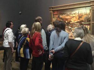 Transfixed. #thetriumphofdeath #bruegel #brueghel #pieterbruegel #pieterbruegeltheelder #pieterbrueghel #onceinalifetime #kunsthistorischesmuseum #vienna #art #artexhibition #austria #kunsthistorisches #flemish #netherlandish #crowds