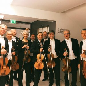 #TOUR Viola section 🎻& soloist Antoine Tamestit - Great spirit before our last tour concert. ____ ▶️Info:...