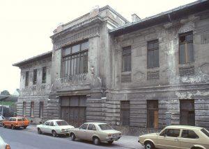 Die Station Ottakring der Vorortelinie 1979 vor der Sanierung. Jahrzehntelang wurde sie davor ...