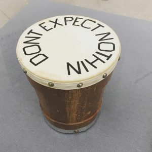 #great #mantra #drum #dontexpectnothing #edruscha #doublenegation #positive #negative #unify #doubleamericanism #secession #Vienna